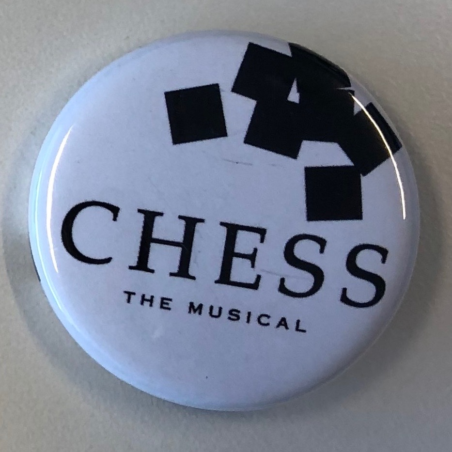 Chess Badge, white